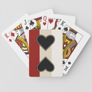 Elegant Heart to Heart Playing Cards
