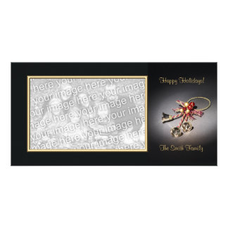 Elegant Holiday Photo card