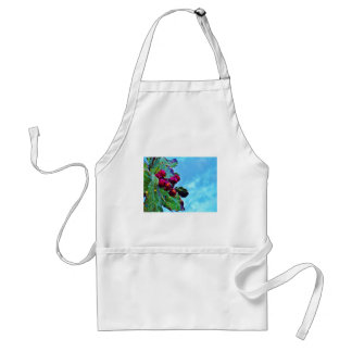 Elegant Holly sky Christmas Apron