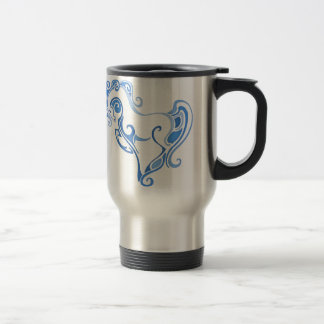 Elegant Horse Graphic Travel Mug