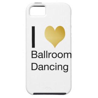 Elegant I Heart Ballroom Dancing Case For The iPhone 5