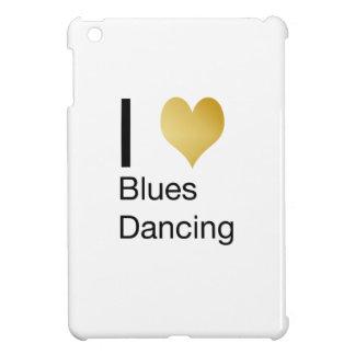 Elegant I Heart Blues Dancing iPad Mini Case