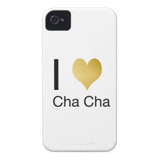 Elegant I Heart Cha Cha iPhone 4 Case-Mate Cases