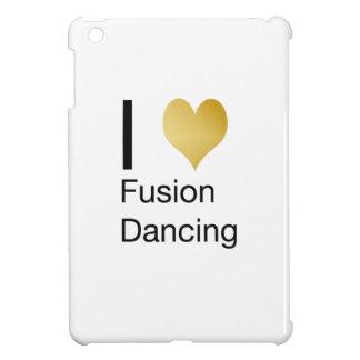 Elegant I Heart Fusion Dancing iPad Mini Cover