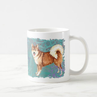Elegant Icelandic Sheepdog Coffee Mug