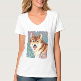 Elegant Icelandic Sheepdog T-Shirt