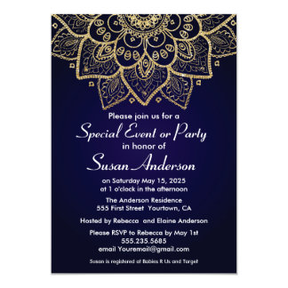 Elegant Indian Design Invitation