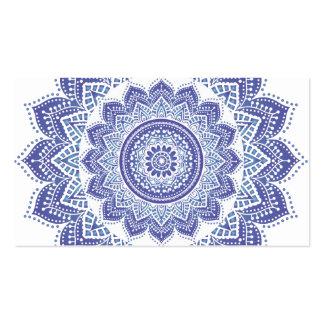 Elegant Indian Ornamental Vintage Design Purple Pack Of Standard Business Cards