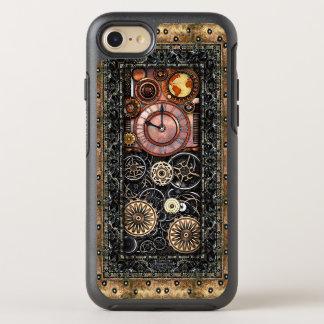 Elegant Infernal Steampunk Timepiece Vintage Style OtterBox Symmetry iPhone 8/7 Case
