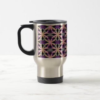 Elegant Intertwined Circles Pattern Mug