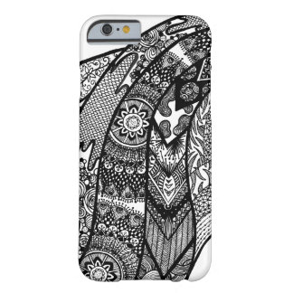 Elegant Intricate Hand Drawn Doodle iPhone Case