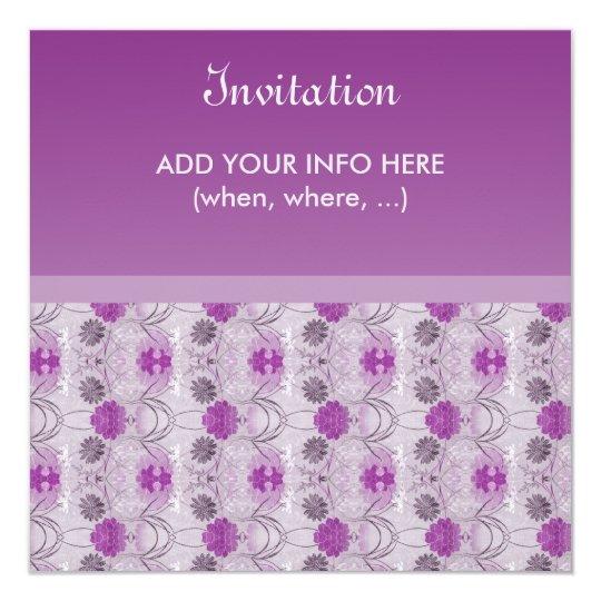 Elegant Invitation - Raiselin purple