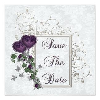 Elegant Ivy Wedding Suite Custom Invitation