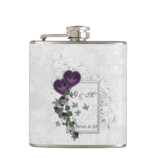 Elegant Ivy Wedding Suite Flask
