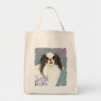 Elegant Japanese Chin Tote Bag