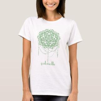 Elegant Jeweled Zen Mandala T-Shirt