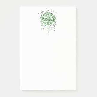 Elegant Jewelled Zen Mandala Post-it® Notes