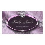 Elegant Jewellery Fashion Fleur de lis Purple