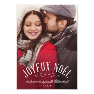 Élégant Joyeux Noël Card