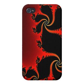 Elegant Julia Fractal Designer Case iPhone 4 Cover