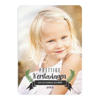 Elegant Kerstkaart Card