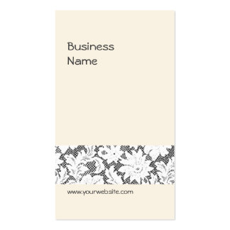 Elegant Lace Business Card Template