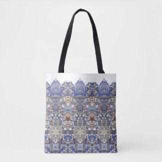 Elegant lace pattern in noble colors-Art Nouveau Tote Bag