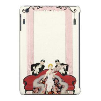 Elegant Lady in Paris Art Deco iPad Mini Retina Case