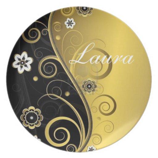 Elegant Laura Party Plate