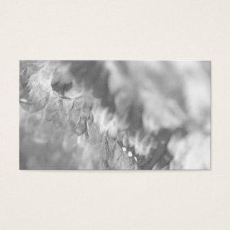 "Elegant ""lava stone"" grey Postcard Edition Business Card"