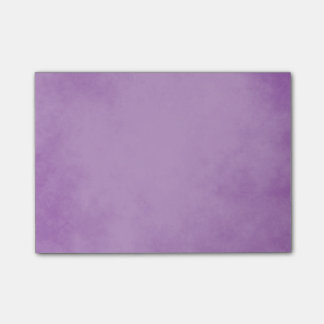 Elegant Lavender Parchment Design Post-it® Notes