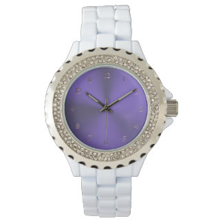Elegant Lavender Purple Watch
