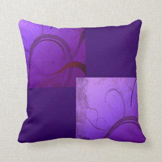 Elegant Lavender Throw Pillow
