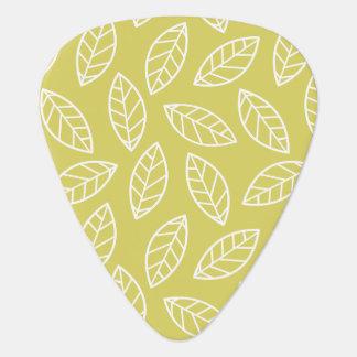 Elegant Leaf Guitar Player Pick Plectrum