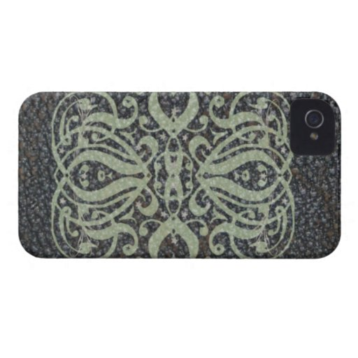 Elegant Leather Scroll Blackberry Bold Case iPhone 4 Case-Mate Cases