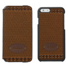 Elegant Leather Style Incipio Watson™ iPhone 6 Wallet Case