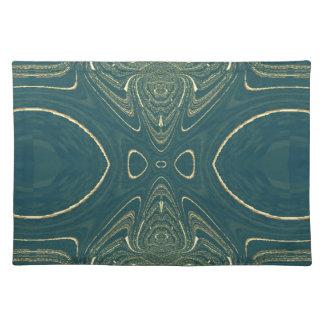 Elegant Ligth Teal Fashion Color Design Placemats