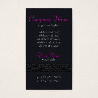 Elegant Lines Business Card