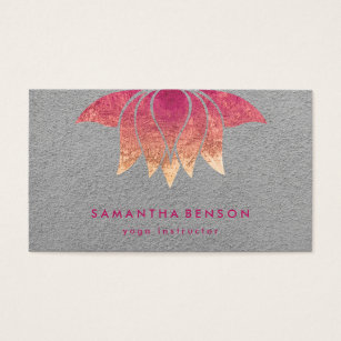 Purple lotus flower business cards business card printing zazzle elegant lotus flower logo yoga purple background business card colourmoves