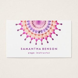 Elegant Lotus Flower Logo Yoga White Background