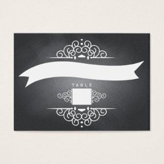Elegant Love Chalkboard Wedding Seating Place Card