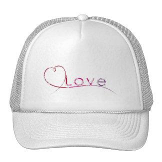 elegant love mesh hats