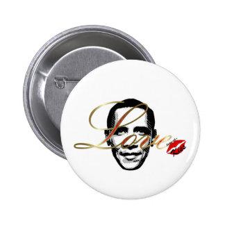 elegant love Obama 6 Cm Round Badge