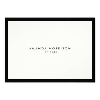 Elegant Luxury Boutique Gift Certificate 11 Cm X 16 Cm Invitation Card