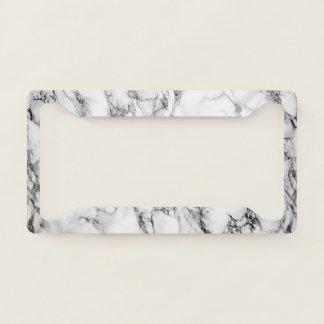 Elegant Luxury Marble Pattern Licence Plate Frame