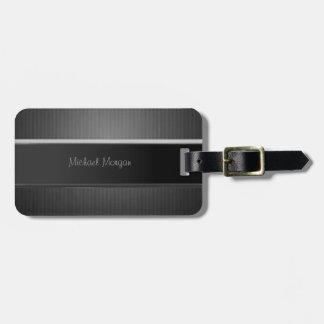 Elegant Luxury ,Striped Luggage Tag
