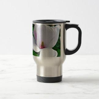 Elegant Magnolie Travel Mug