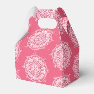 Elegant Mandala Art Favour Box