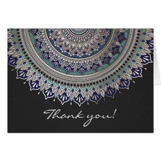 Elegant Mandala Thank You Cards