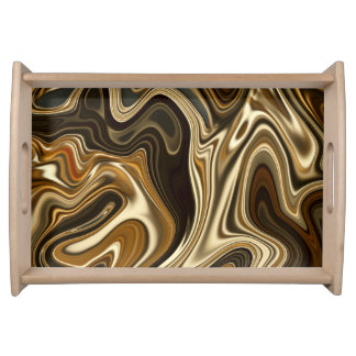 Elegant Marble style2 Serving Tray